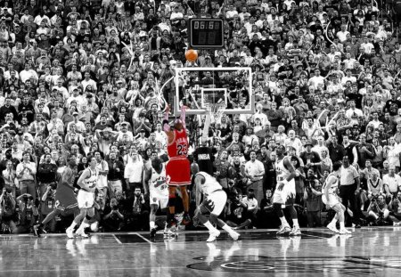 The clock is running out - Basketball & Sports Background Wallpapers