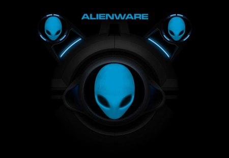 future alien - space, faces, aliens, logos, windows 7, alienware