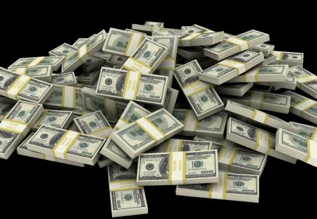 Imagine the Possibilities... - bills, 100s, money, black
