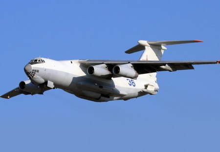 Ilyushin Il-78 Midas - red air force, transport aircraft, russian air force, soviet air force