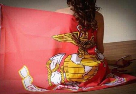 USMC Flag - Other & People Background