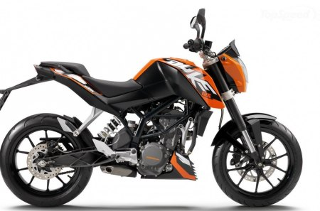 Small But Perfectly Formed - duke, motorcycle, orange, cc, ktm, 125