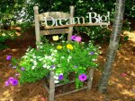 Dream Big - Garden Vignette