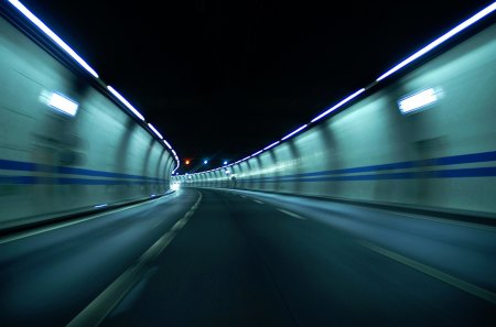 High Speed Tunnel - driving, speed, high, high speed, tunnel