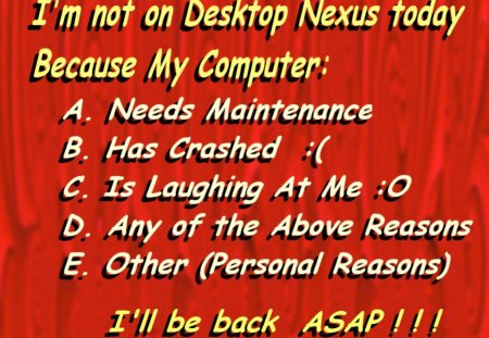 Handy Red Memo Message 01 for DN Members and DN Wallpaper Browsing People :) - memos, messages, green, helpful, red, co11ie, handy