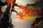 Japanese tree painting