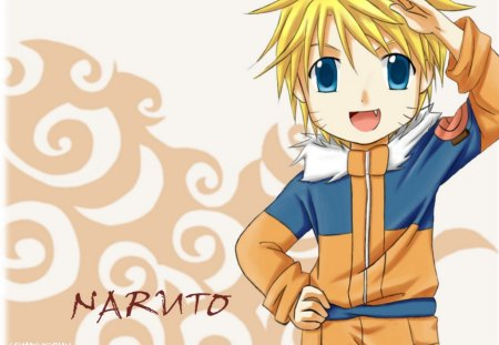 Naruto - cute, little, chibi, small