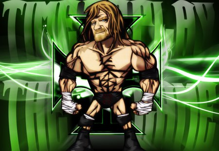 Triple H - dx, animated, the game, wwe