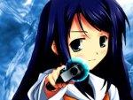anime girl with gun bam!!