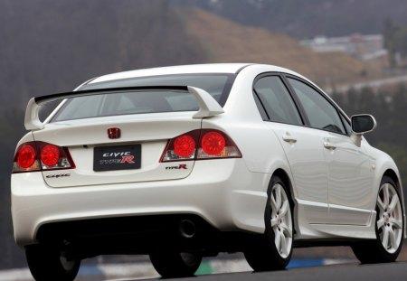Honda Civic Type-R Sedan 2007 - sedan, honda, civic, type-r, 2007