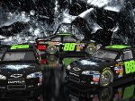 Dale Earnhardt Jr 16x9 Dark Knight Rises Mask BG