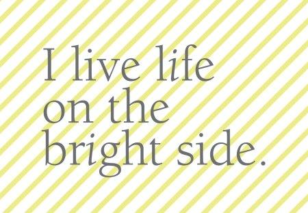 Good day SunSHINE♥ - stripes, sunshine, side, live, forever, life, bright