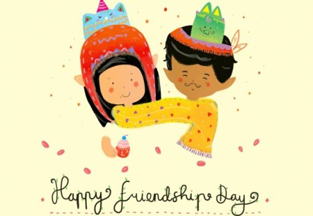 Happy Friendship Day 3d And Cg Abstract Background Wallpapers On Desktop Nexus Image 1132283