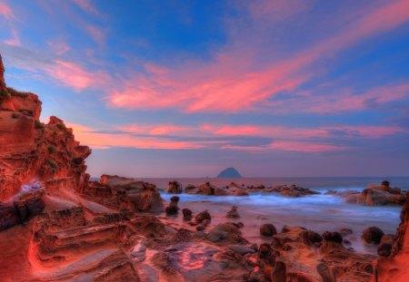Amazing Scenic Sunset