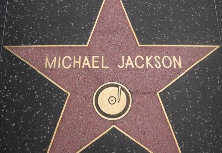 Michael Jackson: Hollywood Walk Of fame - michael jackson, wacko jacko, mj, hollywood walk of fame, walk of fame
