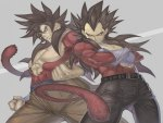Ssj4 Goku & Vegeta