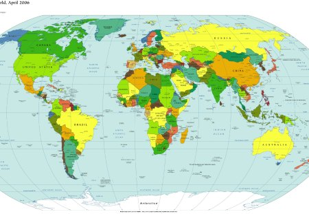 Where In The World Are You From? - countries, globe, location, world map, geography