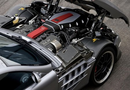 Mercedes Benz SLR 722 - engine, vehicles, car, slr, mercedes slr 722, mercedes