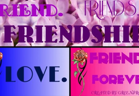 FRIENDS - friendship, friends, forever, friend