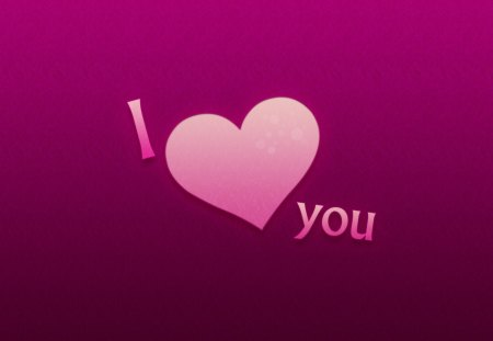 I ♥ you - pink, sweet, textures, declaration, lavender, purple, i love you, violet, abstract, forever
