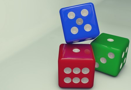 Dices - hd, abstact, dice, 3d