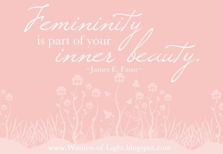 Inner Beauty♥ - girly, light, white, soft pink, pure, beauty, woman, quote, precious, part of you, young, girl, femininity, forever, pastel color, love