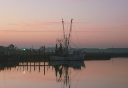Shrimp boat - boat, carolina, shrimp, south