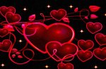 Deep Red Hearts