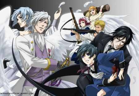 Black Butler Other Anime Background Wallpapers On