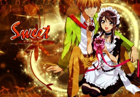 Kaichou Wa Maid Sama - cute, ever, lasting, couple, sweet