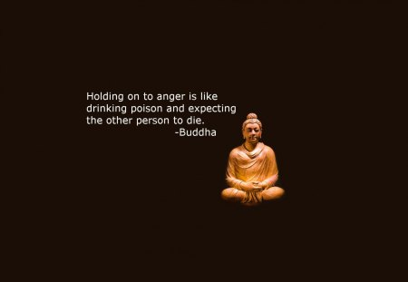 Quote on Anger By BUDDHA - buddha, anger, poison, quote