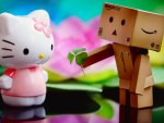 Hello Kitty and Box