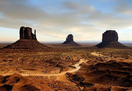 American Desert Deserts Nature Background Wallpapers On