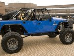 Jeep Wrangler Blue Crush