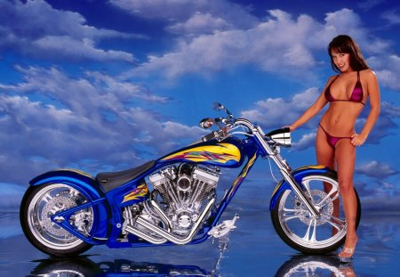 Chopper - has a v-twinhd engine, motorcycles, models, bikes, choppers, bike, softail, special, chopper, fashion, harley davidson, construction, harley