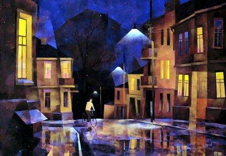 A.Lirner (Kiev). - painting, a lirner, art, street