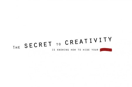 Secret of creativity - cg, secret, creativity, quote