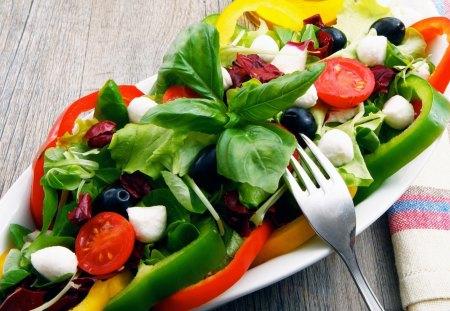 YMMY SALAD - cool, hot, nice, food