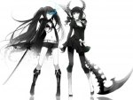 Black Rock Shooter and Dead Master