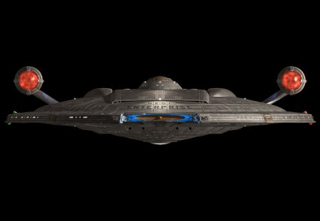 NX-01 Enterprise - star trek, front view, nx-01, enterprise