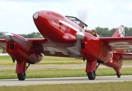 De Havilland DH-88 Comet (replica).. - havilland, replica, comet, 88, de, dh, racer