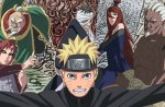 Naruto and the 5 Kage