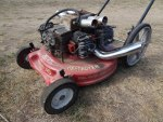 "The Binford Destroyer ""9000""  Tim ""The Toolman"" Taylor Model Lawnmower"