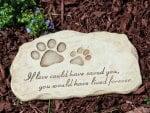 Devotion Pet Memorial Garden Stone♥