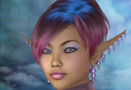 Elf Maiden - fantasy, fairy, maiden, elf