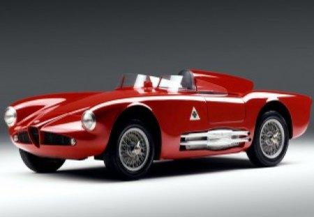 Alpha Romeo 750 Competizione - alpha romeo, 750 competizione, red, retro