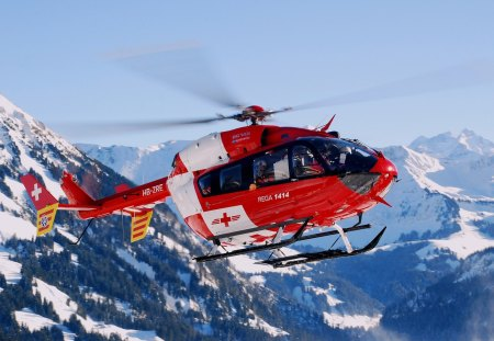 Rega Foundation Helicopter - foundation, rega, helicopter, swiss, air rescue