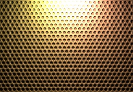 Yellow Honeycomb Pegboard - cg, simple, texture, pattern, yellow