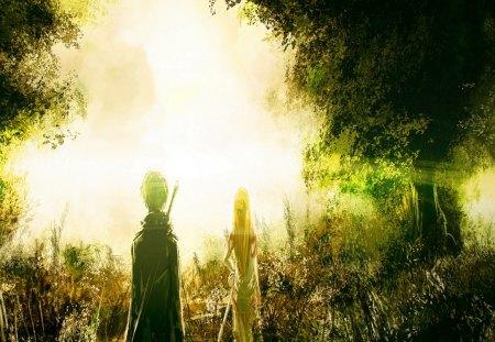 SAO Theme - rpg, series, anime, wall, cupid, sao, new