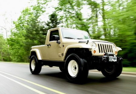 Jeep Wrangler JT Pick Up - cars, pick up, wrangler, jt, jeep